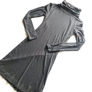 Horny Toad & Co. Gray Turtleneck Bodycon Dress XS